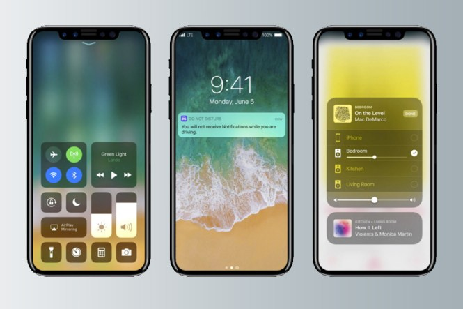 iPhone 8. leaked images, renders, iOS 11, Leaks, Speculations, Dual-Camera Setup, Jet Black, Iris Recognition, Facial Recognition