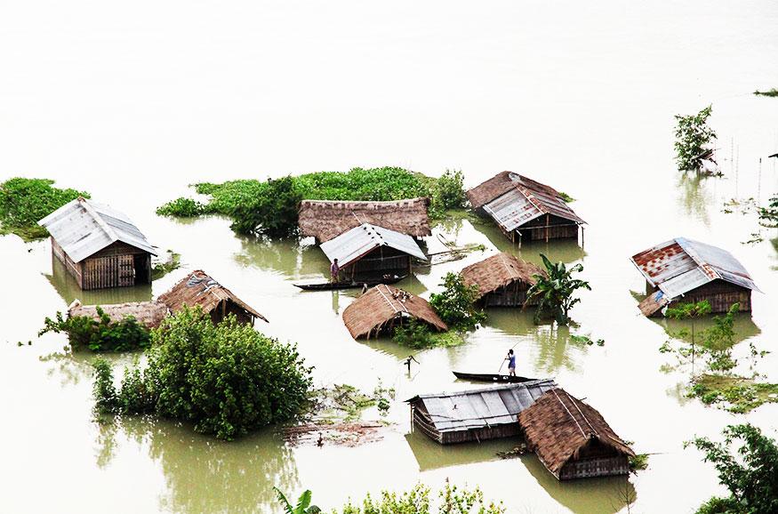 Majuli floods