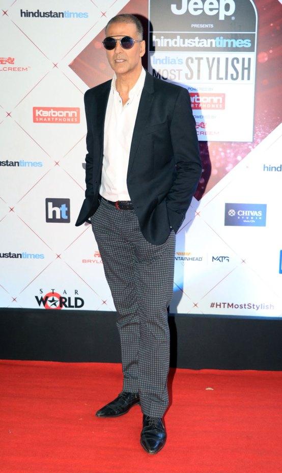 Akshay Kumar at HT Awards 2018