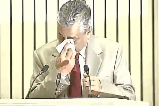 CJI Breaks Down in Front of Modi, Seeks More Judges