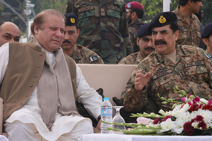 Image result for pakistan military leader and commander, nawaz sharif