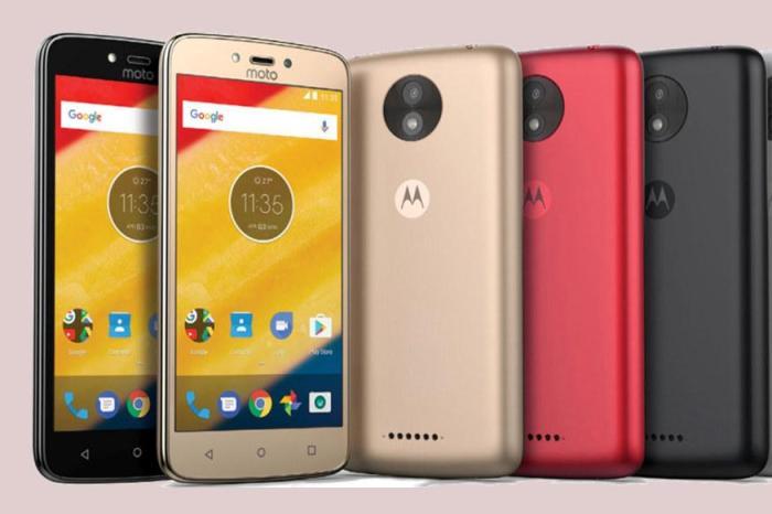 Motorola Moto C And Moto C Plus Revealed: The Cheapest Moto Phones?