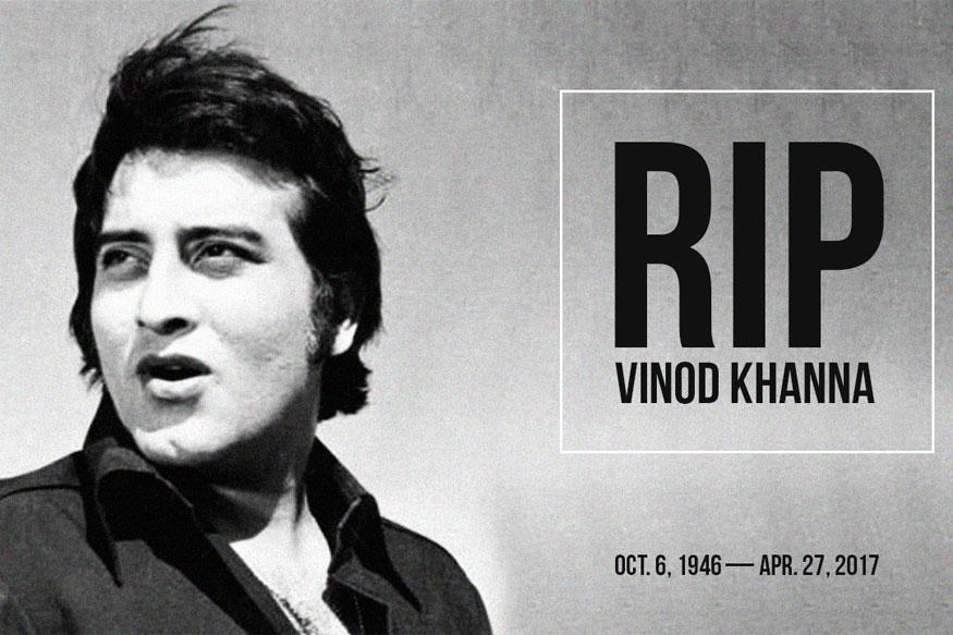 Veteran Actor Vinod Khanna Dies at 70 After Battle With Cancer