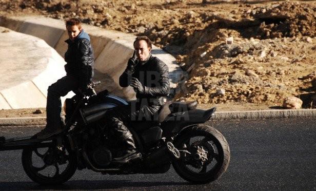 Ghost Rider Türkiye Setinden Fotoğraflar