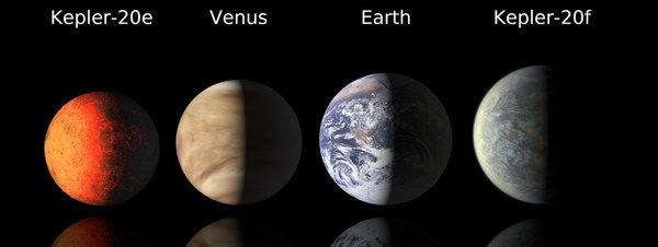 Descubiertos los primeros planetas extrasolares del tamaño de la Tierra