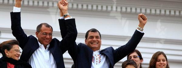 Rafael Correa reelegido presidente en Ecuador con un margen contundente