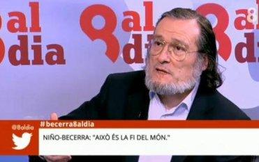 Niño-Becerra: 'El Gobierno español nos está tomando el pelo'