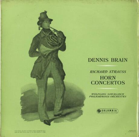 GB COL CX1491 デニス・ブレイン R.シュトラウス・ホルン協奏曲