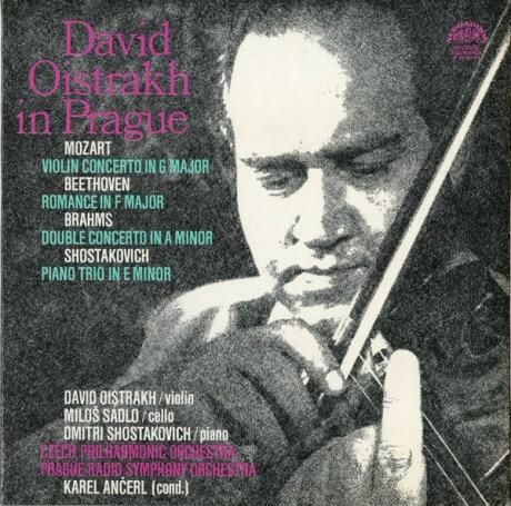 CZ SUA 0 10 2371/2 ダヴィッド・オイストラフ モーツァルト・ヴァイオリン協奏曲