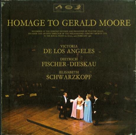 GB EMI SLS926-2 ジェラルド・ムーア 「ムーアへのオマージュ」 モーツァルト:三重唱K.436,549,562/シューベルト/ロッシーニ/ブラームス/シューマン/ヴォルフ/他