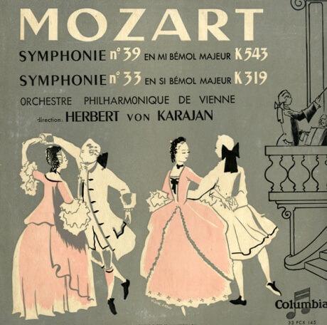 FR COL FCX145 ヘルベルト・フォン・カラヤン モーツァルト・交響曲39・33番