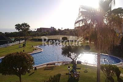 Duplex, 3 habitaciones, 1ª línea de playa- Lunamar Málaga