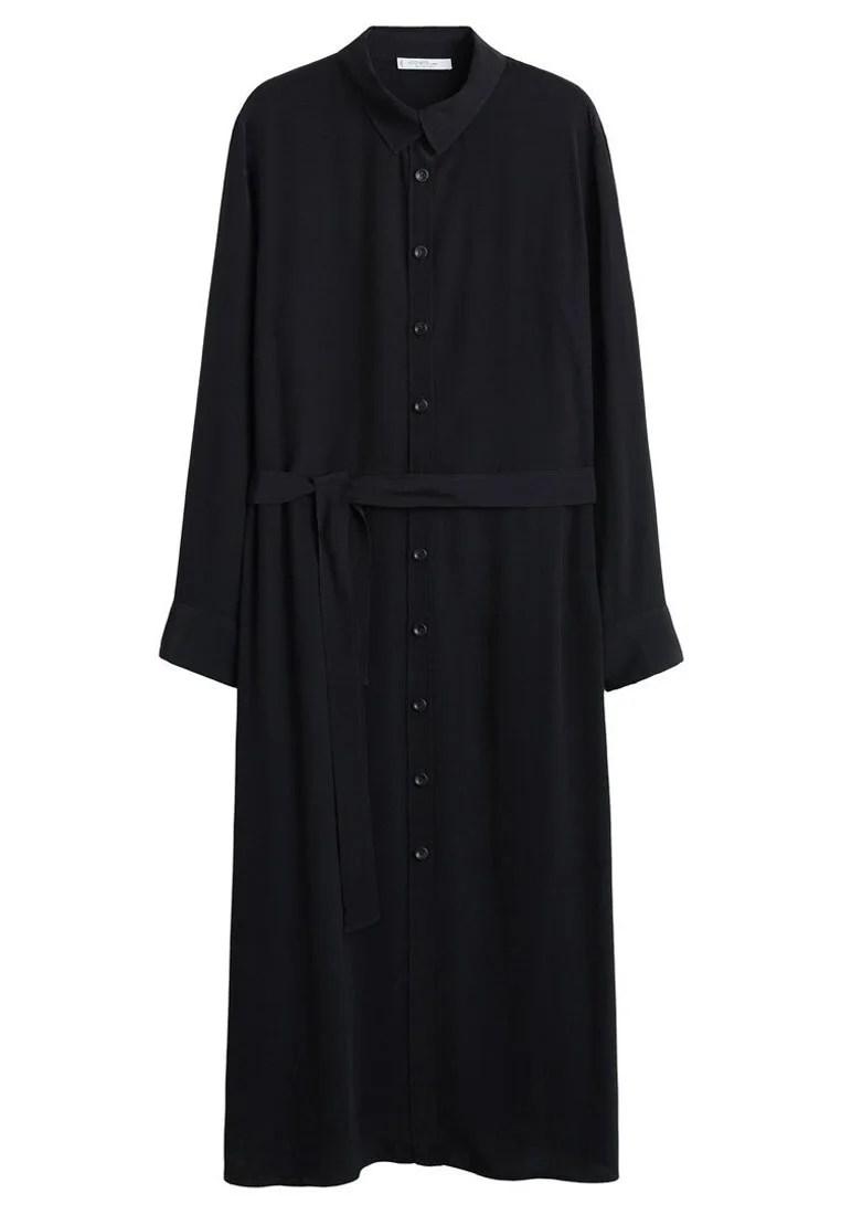 Violeta by Mango Skjortklänning