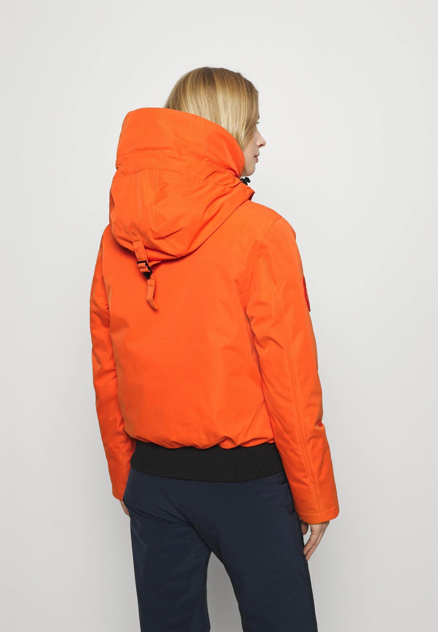 everest snow skijacke havana orange