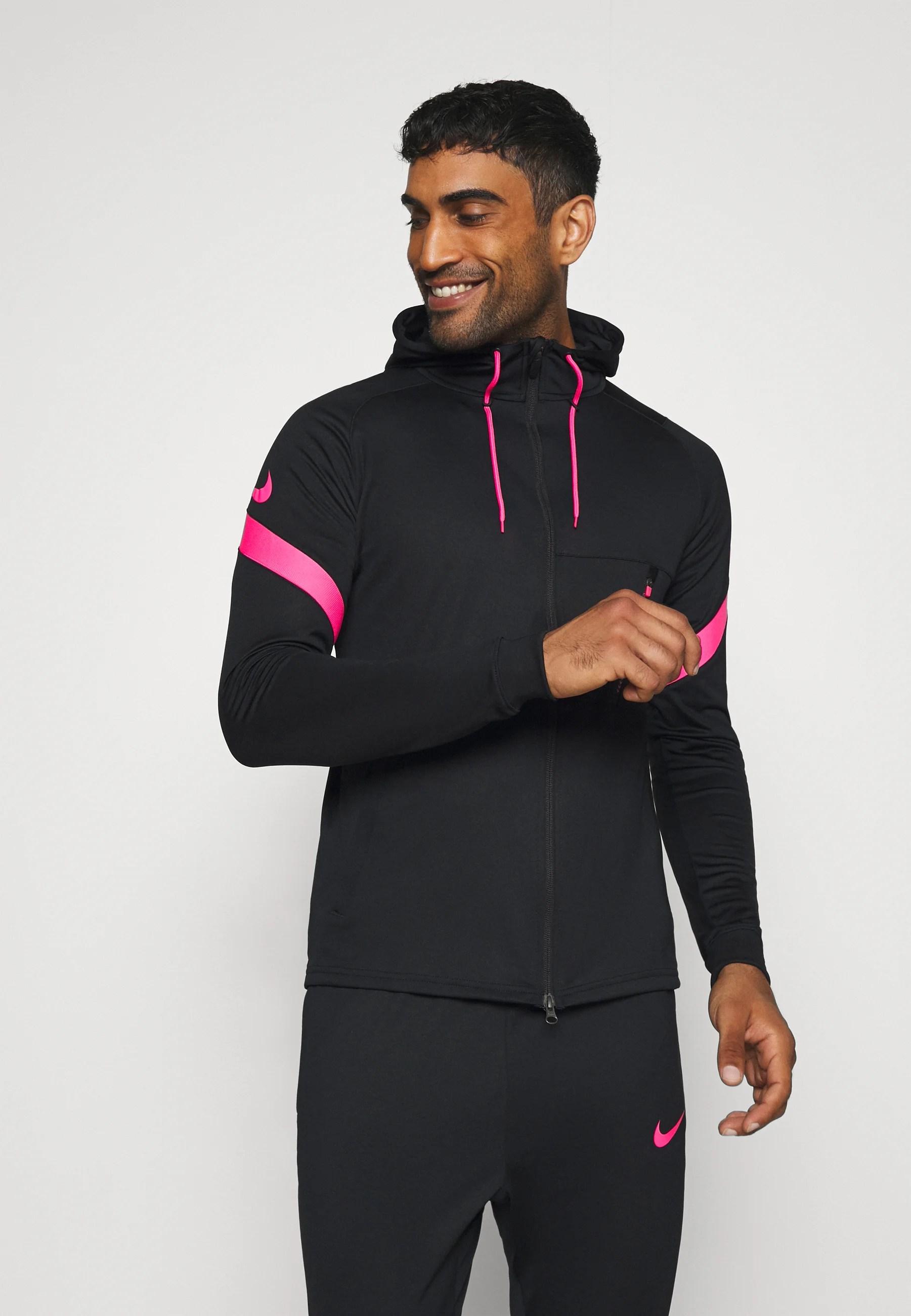 dry strike suit trainingsanzug black hyper pink