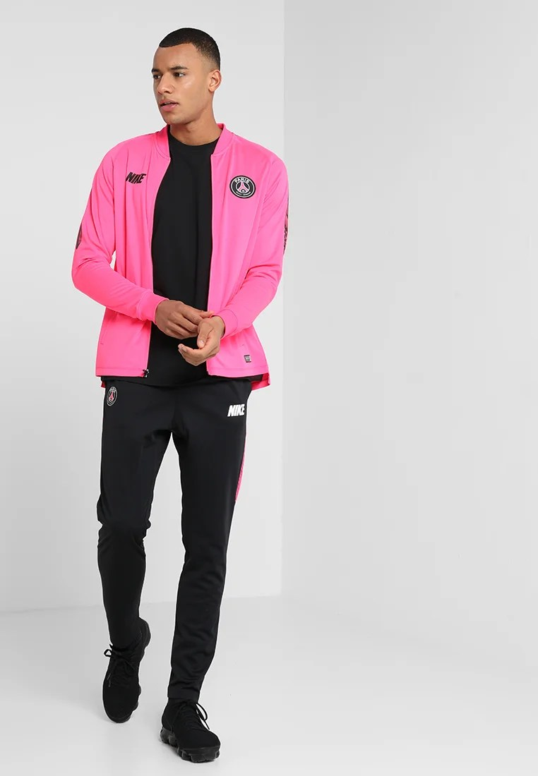 paris st germain dry suit vereinsmannschaften hyper pink black
