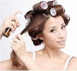 hair curlers long hairstyles