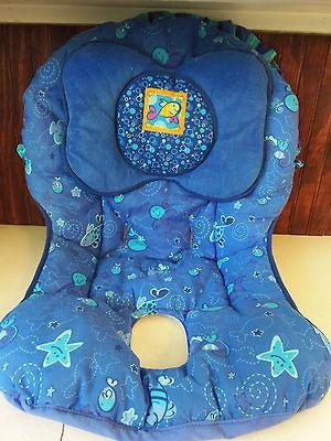 used fisher price aquarium cradle swing replacement cover seat pad