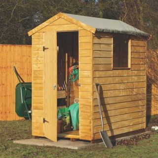 Storage Utility Lean To Shed Building Plans