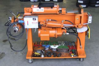 huth hb2806 exhaust bending machine pipe bender