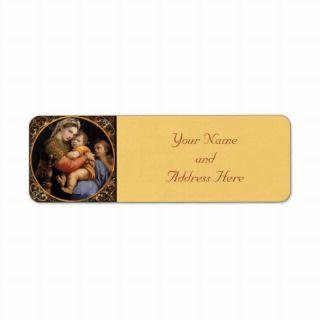 Religious Catholic Art Madonna Child Franz Ittenbach