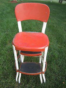 Astounding Kitchen Chair Step Stool Red Vintage Stool Step Stool Spiritservingveterans Wood Chair Design Ideas Spiritservingveteransorg