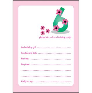 birthday party invitations 6 year old Cogimbous