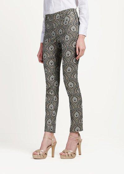 Pantalone modello Cindy fantasia damascata - Cocco / Marina Fantasia - Immagine categoria