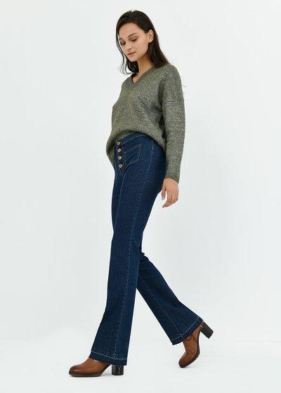 Denim modello Victoria gamba larga - Denim - Immagine categoria