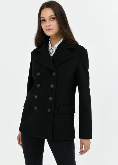 Cappotto Ciril con rever - Black - Immagine categoria