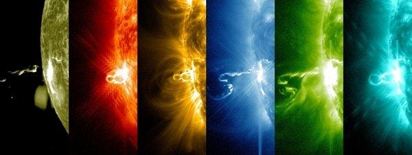 Registrada la mayor llamarada del actual ciclo solar