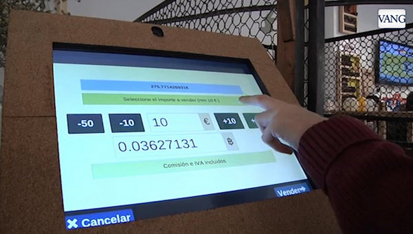 ATM  bitcoins in Barcelona   image