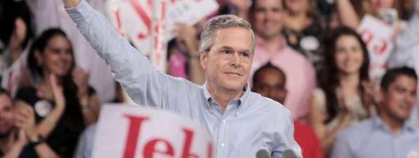 Jeb Bush presenta su candidatura a la presidencia de EE.UU
