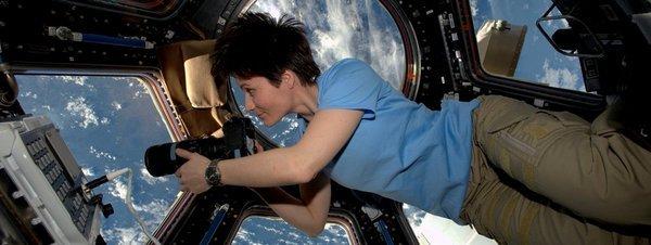 Samantha Cristoforetti, récord femenino en el espacio