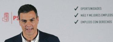 Pedro Sánchez se compromete a