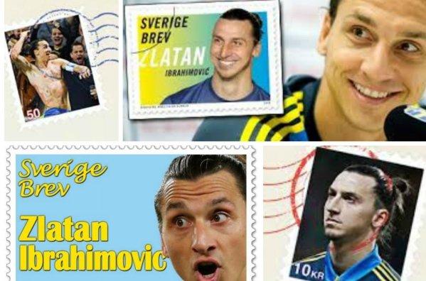 Ibra, para lamerlo: el sueco tendrá colección de sellos propia