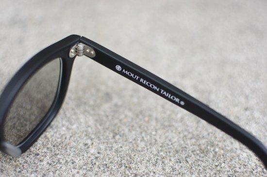 マウトリーコンテーラー ( mout recon tailor ) photochromic bcg sunglasses / サングラス black MOUT-020 - エンシニータス