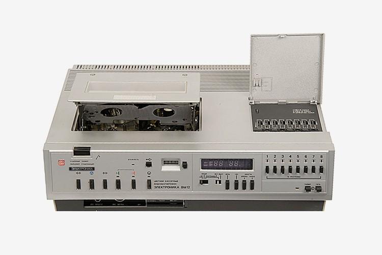 Видеомагнитофон «Электроника ВМ-12»