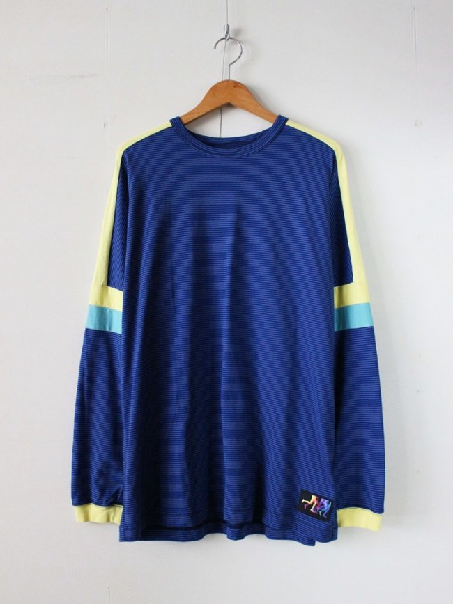 HURRAY HURRAY|EKIDEN L/S TEE #BLUE