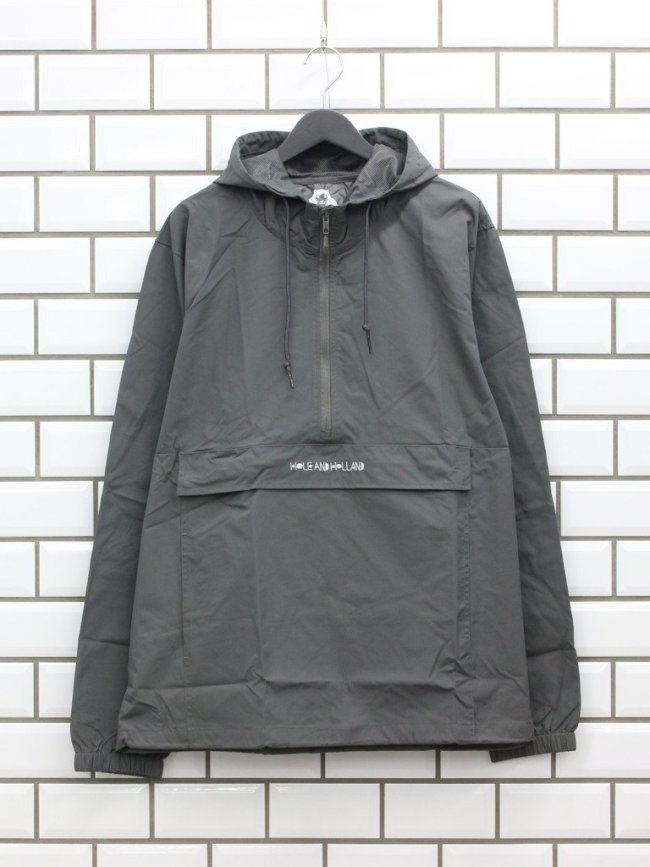 HOLE AND HOLLAND|ANORAK JKT #GREY