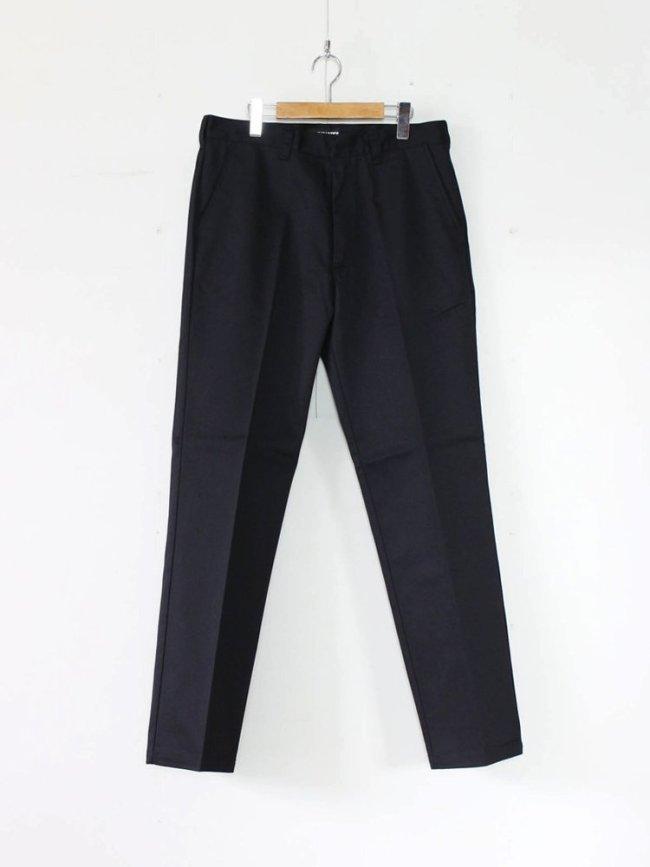 WACKO MARIA|TWILL SKATE PANTS (TYPE 1) #BLACK [GP-104-A-BLANKLINE-ZACK-01]