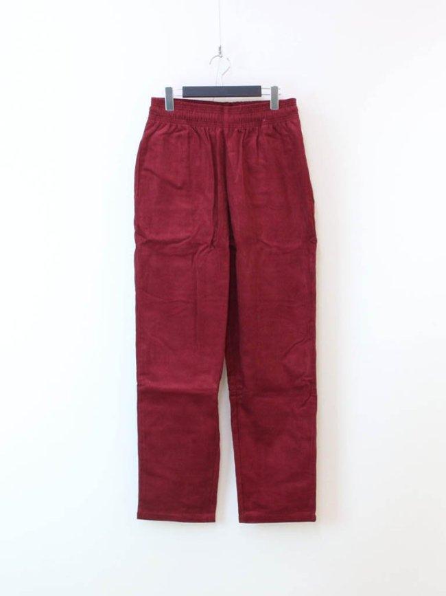 COOKMAN CHEF PANTS (CORDUROY) #WINE RED [231-03809]