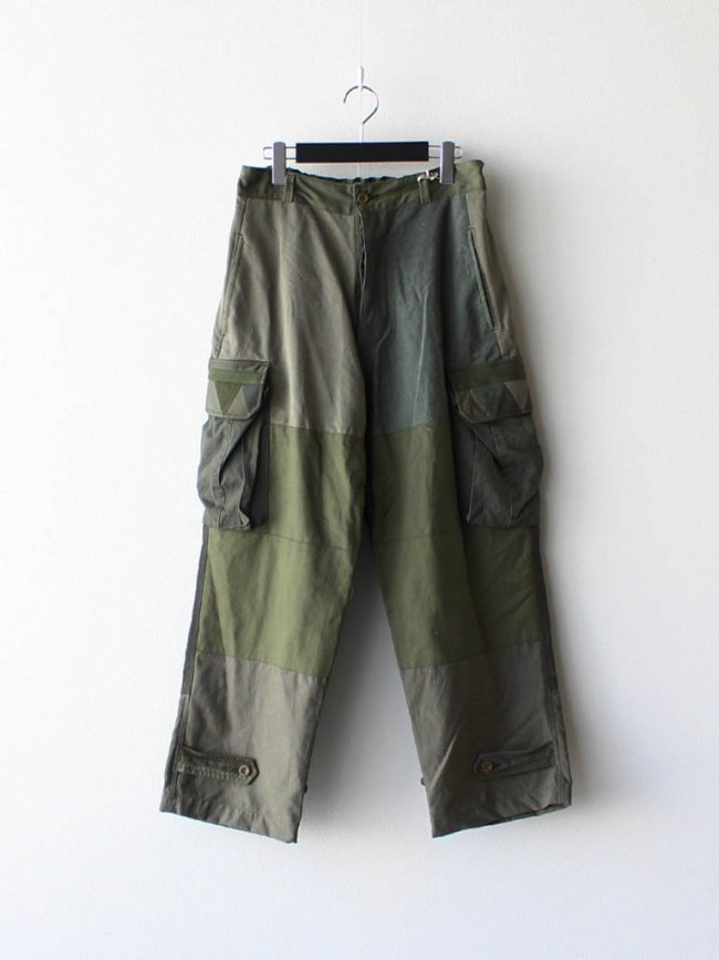Nasngwam. BARBARIAN PANTS (M-47) #OLIVE [RP0211302]