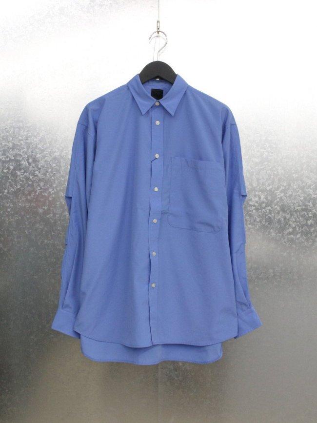 DAIWA PIER39|TECH REGULAR COLLAR SHIRTS #BLUE [BE-86021W]