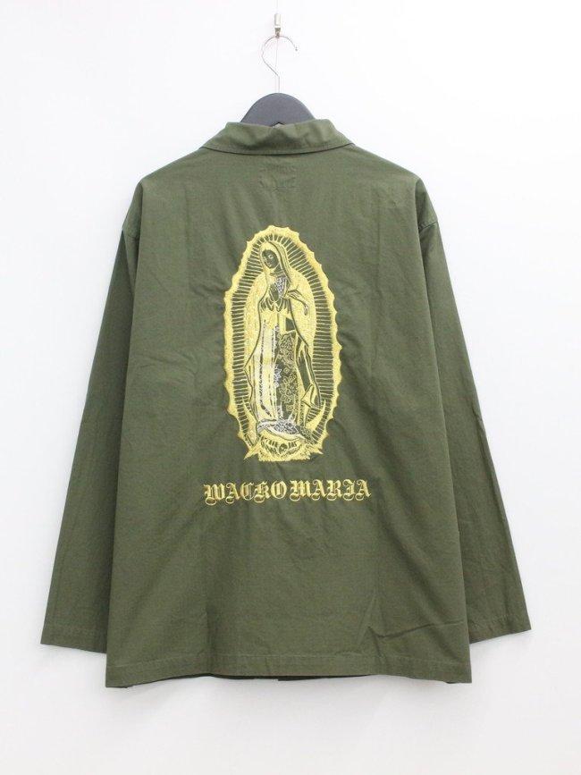 WACKO MARIA|ARMY SHIRT TYPE 2 #KHAKI [21FW-WMO-ML24]