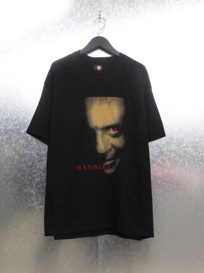 WACKO MARIA|HANNIBAL | CREW NECK T-SHIRT TYPE 2 #BLACK [HANNIBAL-WM-TEE02]