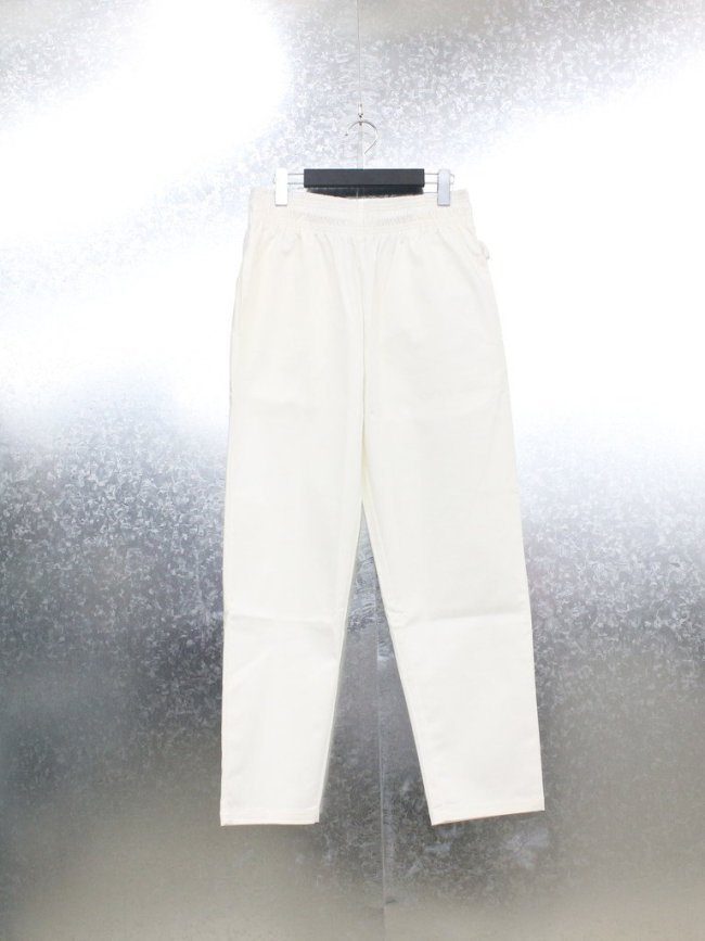 COOKMAN|CHEFS FRYPANTS (TC WITH SPANDEX) #WHITE [231-01806]