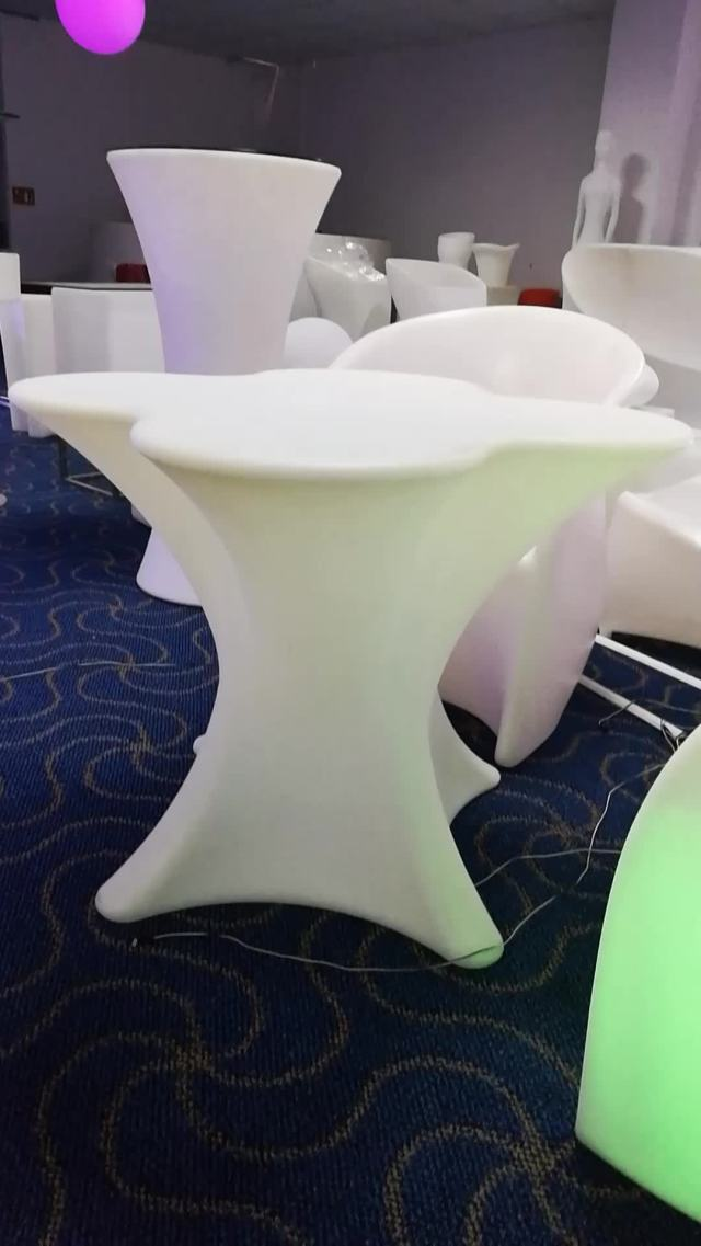 portable led stool / outdoor light up furniture / outdoor waterproof