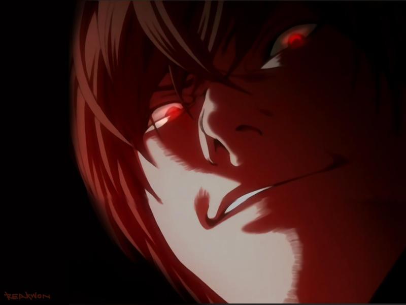Image result for light yagami evil