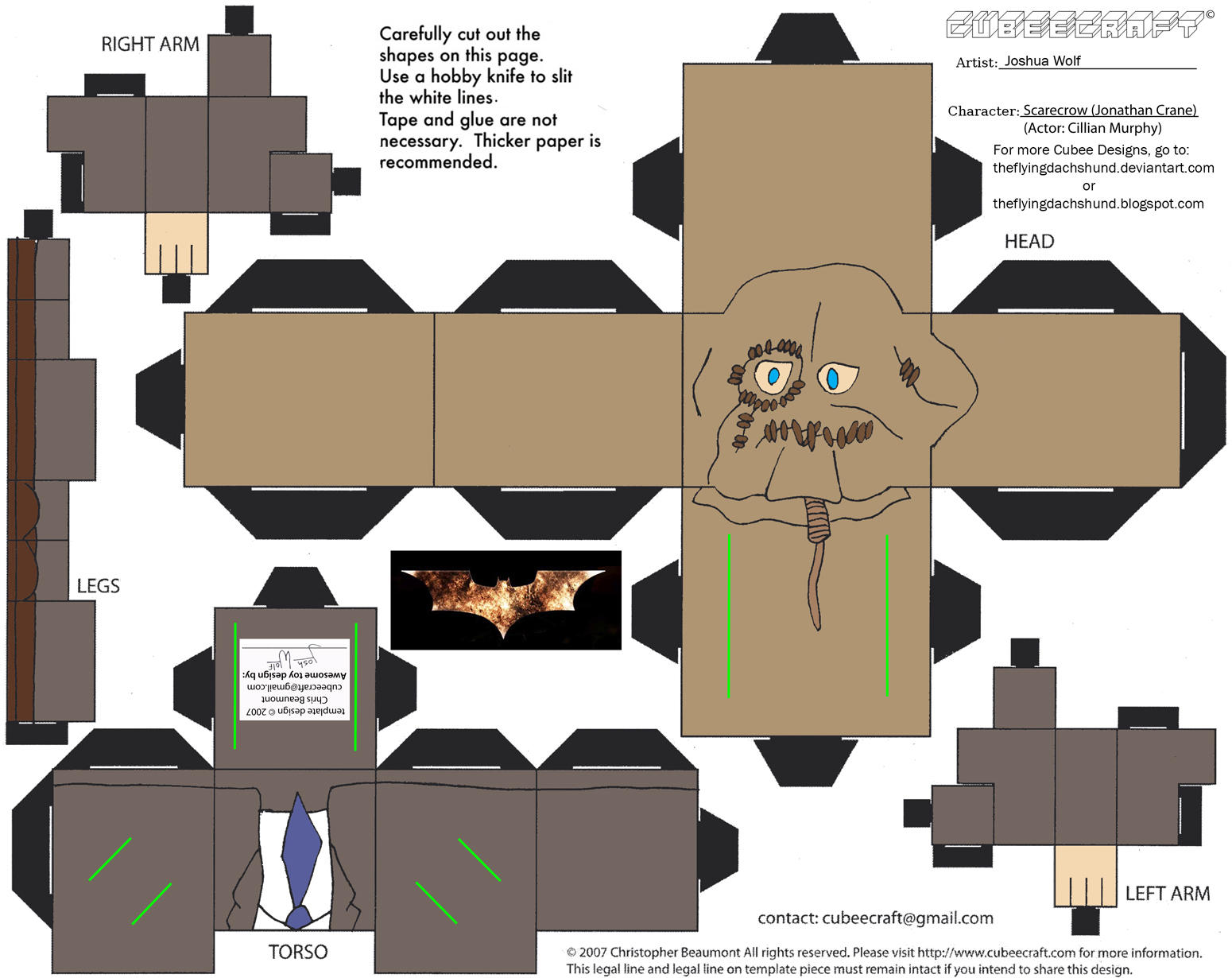 Dcf5 Scarecrow Cubee By Theflyingdachshund On Deviantart